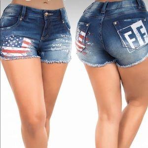 Pants - Colombian Butt Lift Shorts